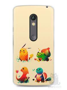 Capa Capinha Moto X Play Pokémon #1 - SmartCases - Acessórios para celulares e tablets :)