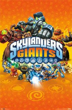 Skylanders Giants - Key Art Posters at AllPosters.com. 8.99