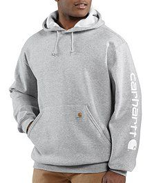 Carhartt Midweight Hooded Logo Sleeve Sweatshirt