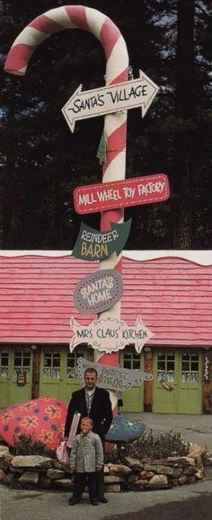 Santas Village in Scotts Valley, Ca (Unfortunately closed in 1978)
