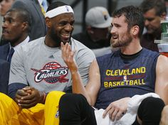 Kevin Love may have picked Russell Westbrook as his MVP, but LeBron James isn't afraid to support Love's MVP candidacy. Cleveland Basketball, Basketball Finals, Basketball Quotes, Basketball Teams, Kevin Love Cavs, King Lebron James, King James, Lebron James Cleveland, Cleveland Cavs