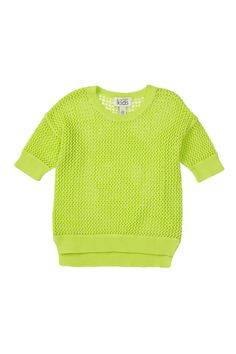 Autumn Cashmere Crochet Skull Hi-Lo Top  Kids