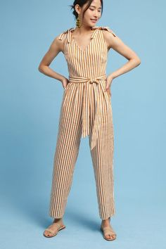 Patna Striped Jumpsuit