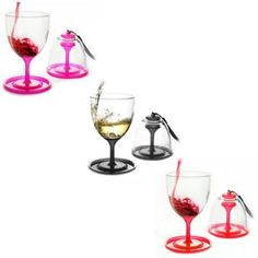 Stack N' Go Vino Wine Glasses (Set of 2) - BedBathandBeyond.com