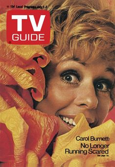 TV Guide cover for July Features Carol Burnett. Photo from CBS. Great Tv Shows, Old Tv Shows, History Of Television, Carol Burnett, Tv Station, Vintage Tv, Vintage Stuff, Elizabeth Montgomery, Farrah Fawcett
