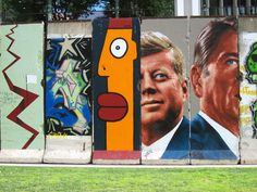 The Berlin Wall on Museum Row