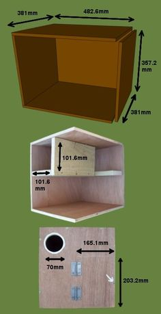Bob Sheppard's Little Owl nest box design Owl Nest Box, Owl Box, Owl Habitat, Bird House Plans, Bird Boxes, Little Owl, Owl House, Nesting Boxes, Box Design