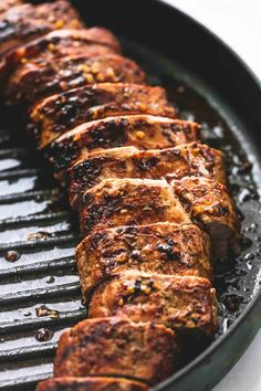 Best Ever Healthy Grilled Pork Tenderloin - TheDirtyGyro Grilled Pork Tenderloin Marinade, Pork Marinade, Pork Tenderloin Recipes, Pork Chops, Healthy Grilling Recipes, Pork Recipes, Grill Recipes, Health Recipes, Healthy Dinners