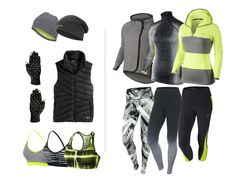 Fall Wish List Saucony Reversible Hat | Brooks Beanie | Nike Tech Gloves | Under Armour Vest | Nike Bra | Nike Bra | Nike Bra | Nike Tech Fleece Cape | Nike Printed Tights | Nike Pro Half-Zip | Nike Ombre Tights | Nike Hoodie | Nike Capris