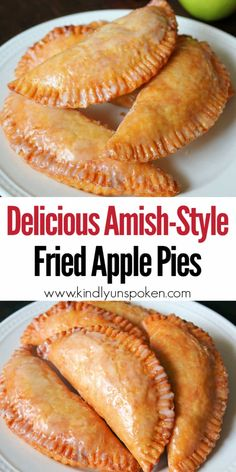 There's nothing better than Southern Fried Apple Pies in the Fall! Check out my Best Fried Apple Pies Recipe that's made completely homemade from scratch! These old fashioned Amish-Style Fried Apple Hand Pies are so easy and delicious with a tender, flaky, and buttery pie crust, a cinnamon sugar apple pie filling, and a sweet powdered sugar glaze. #friedapplepies #applepie #falldesserts Easy Pie Recipes, Amish Recipes, Apple Pie Recipes, Cooking Recipes, Fried Apple Pie Recipe Easy, Homemade Fried Pie Dough Recipe, Amish Fry Pies Recipe, Fried Hand Pies, Fried Apple Pies
