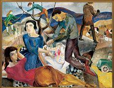 Marguerite Zorach's 'The Picnic,' 1928