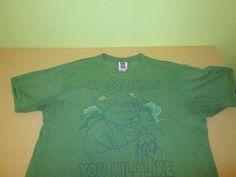 STAR WARS YODA  Graphic  T Shirt Sz XL  - Green - Junk Food #JunkFood #GraphicTee