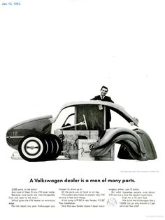 Volkswagen ad - Many Parts