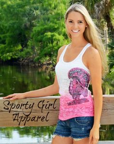 0d424242c51 Turkey Hunters Tank top more colors Pink and Black