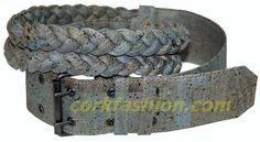 Cork Belt (model RC-GL0104008051) - Eco-friendly - made of real cork. From www.corkfashion.com