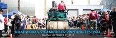 Roadworks Steamroller Printing Festival | San Francisco Center for the Book