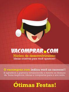 Ótimas Festas e Muito Sucesso em 2014 - Vacomprar.com