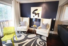 David Bromstad, I love these chairs