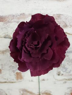 Purple paper flower