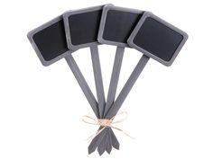 Gray Chalkboard Garden Stake| Wedding Decor U0026 Signage | Afloral Wedding  Decor U0026 Silk Flowers