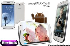 Samsung Galaxy S3 White Deals - http://www.phoneslimited.co.uk/Samsung/Galaxy+S3+White.html