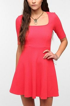 Simple and sweet. Also looks great in black. Pins and Needles Popcorn Ponte Knit Dress