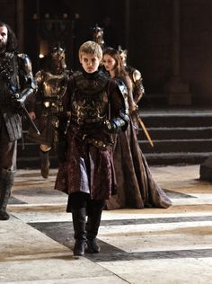 Jack Gleeson as Joffrey Baratheon in Game of Thrones (TV Series, 2012).