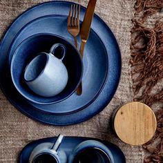 """3,515 Likes, 39 Comments - Bloomingville, Denmark (@bloomingville_interiors) on Instagram: """"Strikingly blue accents to decorate both Summer and Winter table. // #bloomingville #happychanges…"""""""