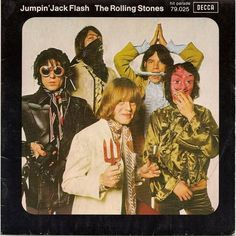 """The Rolling Stones """"Jumpin' Jack Flash"""" 45"""