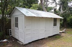 shed made from doors | Flickr - Photo Sharing!