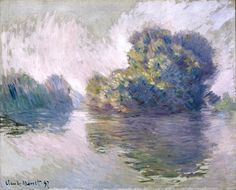 Клод Моне - The Islets at Port-Villez, 1897. Клод Оскар Моне