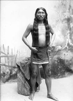 Kicking Bear, 1892 - To Review Native American Style Breechcloths go to: http://www.indianvillagemall.com/breechcloth.html