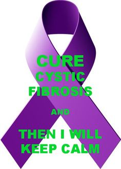 what a wonderful calm that would be - Cystic Fibrosis Color