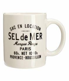 Sel de Mer mug £3.99 H&M
