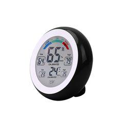 Digitale Thermometer Hygrometer Temperatur-Und Feuchtigkeitsmessgerät Max Min Wert Trend Display