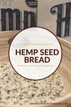 Cookwith5Kids | Hemp Seed Bread | https://cookwith5kids.com