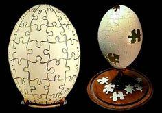 Escultura no ovo