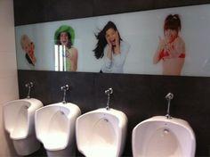 Diferenciación turística... hasta en los baños!