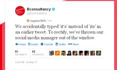 Rather than Econsultancy critiquing brands they've revealed how they use Facebook, Twitter, Pinterest and Google+