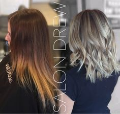 Before and after hair transformation BALAYAGE and haircut by Salon Drew  los al, los alamitos, los al stylist, balayage, beautiful, hair