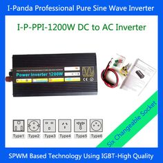 Ar Ingenious Voltage Converter Dc 12v To Ac 240v 1000w Power Inverter household