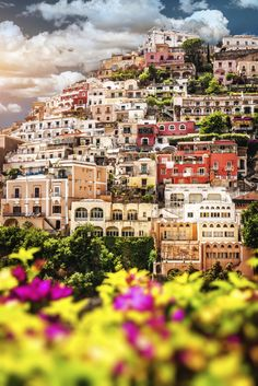 View of Positano, Italy