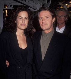 Don Henley with his wife Sharon Summerall in 1990