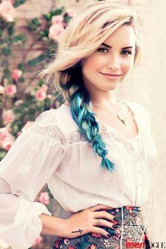 Demi. Love the blue braid
