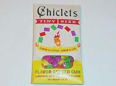 Old gum...yum!!