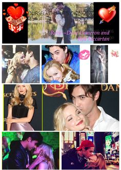 There so cute Ryan Mccartan and Dove Cameron .