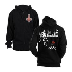 In case you missed it, the mighty Ghost have been announced as the third headliner for Bloodstock Festival! Such a tremendous client of ours.  Be sure to check out their merch store, full of quality merch and apparel, like this Ghoulfather hoodie:
