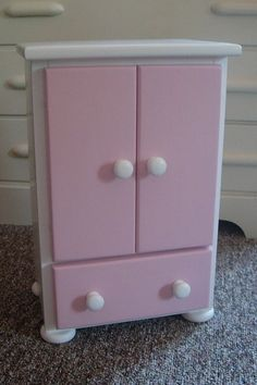 Doll Armoire   Doll Dresser   Doll Closet For American Girl Doll Or Dolls