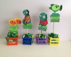 plants vs zombies on Etsy, a global handmade and vintage marketplace.