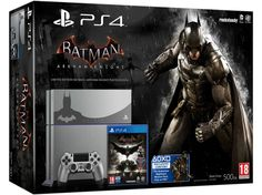 Sony PlayStation 4 Console Limited Edition Batman Arkham Knight New UK Playstation 4 Bundle, Playstation 4 Console, Batman Arkham Knight Ps4, Consoles, Avengers, Ps4 Exclusives, Deadshot, Marvel, Riddler